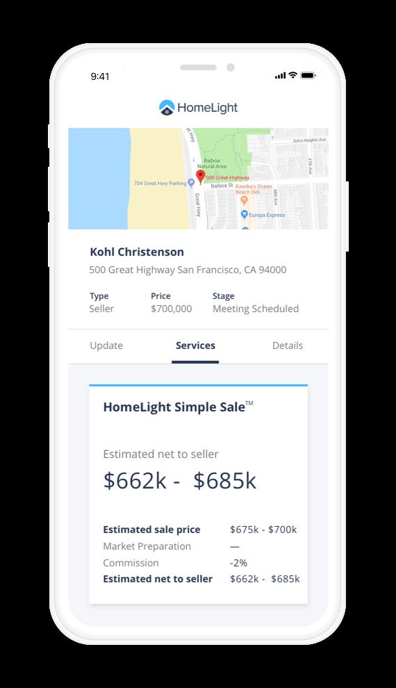 Simple sale agent phone